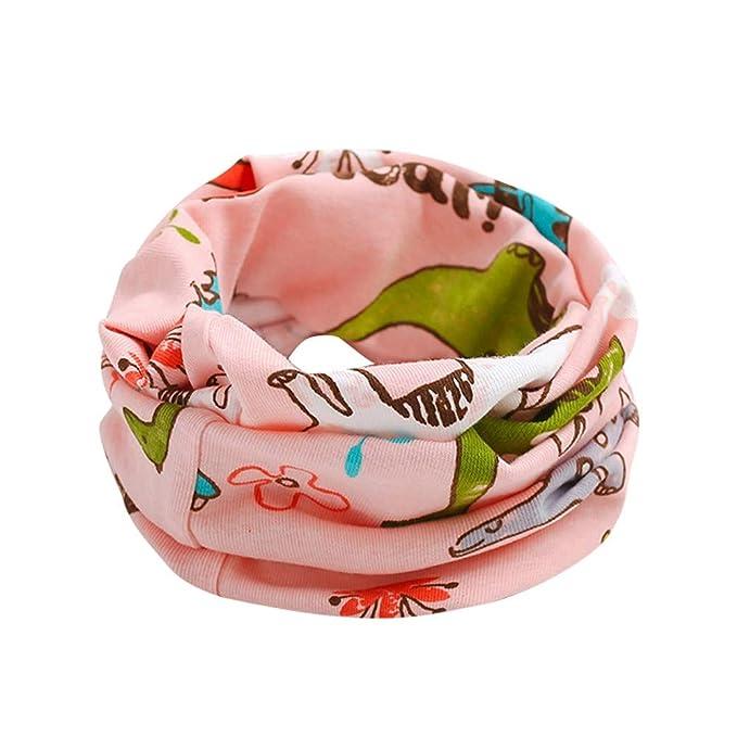 Huhu833 Baby Kid Mädchen Jungen Schal Tier Muster Nähen O-Ring Baby ...
