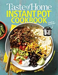Instant Pots are the hottest appliances on the market today, and they are changing the way we cook. The Taste of Home Instant Pot Cookbook will give you the essential recipes you want to make in your Instant Pot to feed your family and captu...