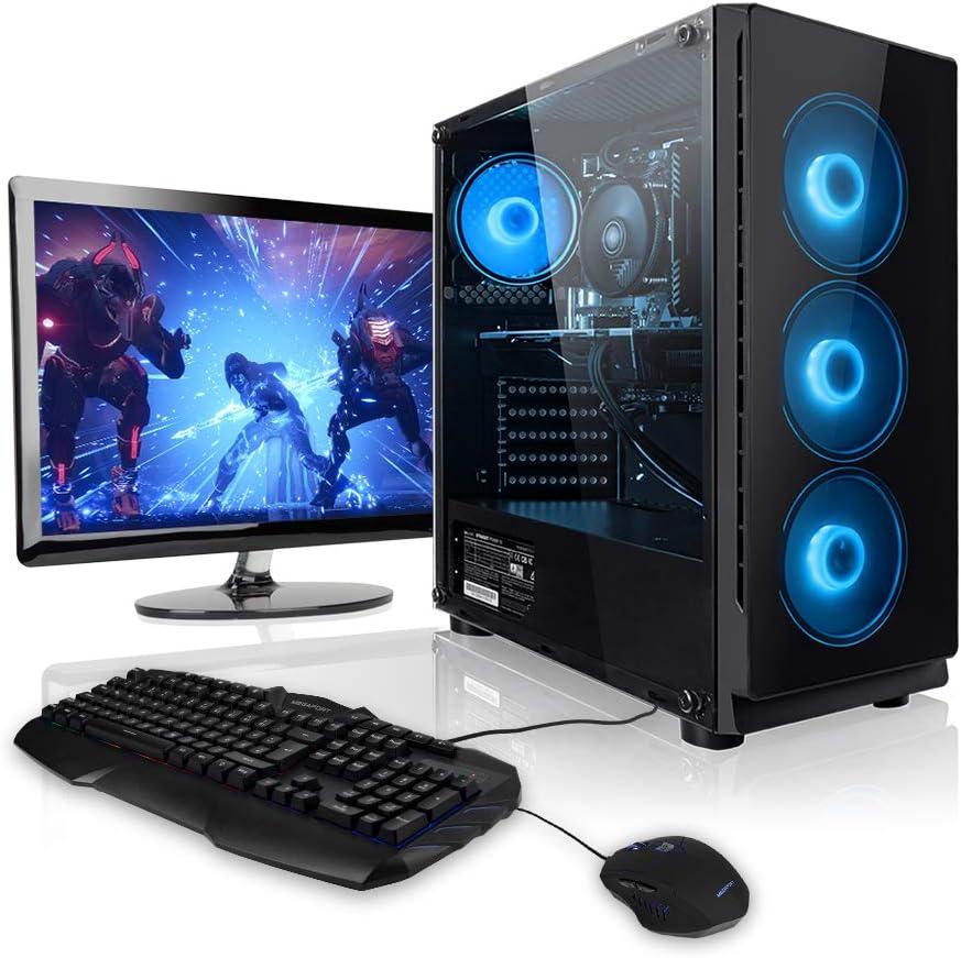 "Pack Gaming - Ordenador Gaming PC AMD Ryzen 5 2600 • 24"" ASUS Full-HD • Teclado y ratón Gaming"
