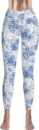 Custom Leggings Women High Waist Soft Yoga Workout Stretch Printed Animal Snake Print Stretchy Capris Pants
