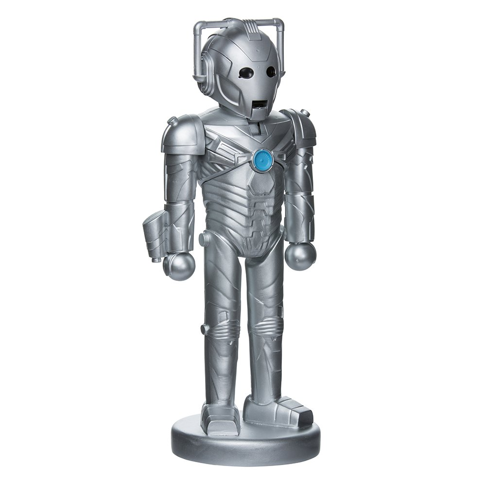 Kurt Adler DW6171L 10.25'' Doctor Who Cyberman Nutcracker