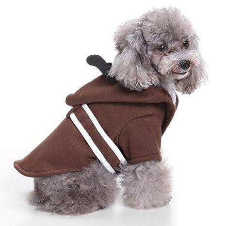 TYJY Perro De Invierno Disfraz De Halloween Ropa para Perros De Navidad para Perros Chihuahua Abrigo
