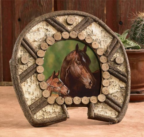 Horseshoe Picture Frames | Kritters in the Mailbox | Horseshoe Frames