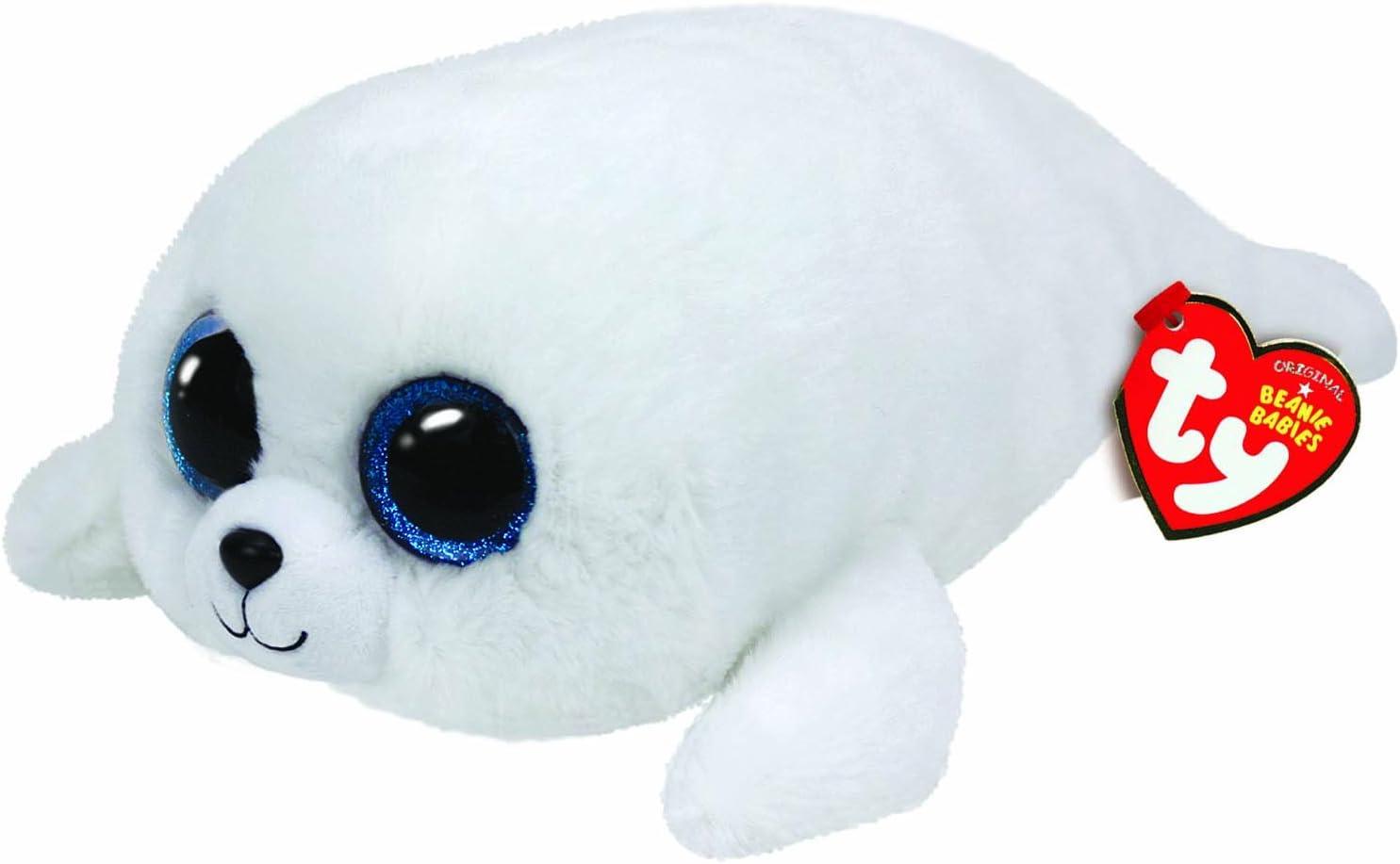 Ty - Icy, Peluche Foca, 15 cm, Color Blanco (36164TY): Amazon.es: Juguetes y juegos