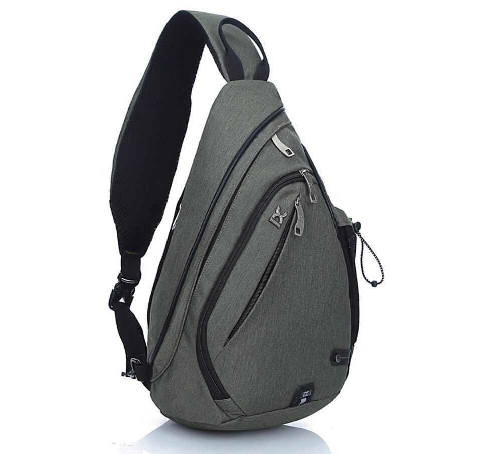 EGOGO Multifunktions Schultertasche Rucksack Crossbody Tasche Sling Tasche Wandern Dackpack ein sollte Schultergurt für Männer und Frauen E300-4 300-4/IX8009