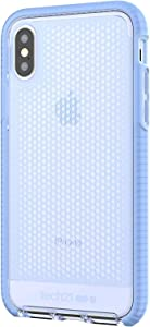 tech21 Evo Mesh Phone Case for Apple iPhone X and Xs - Lilac Blue