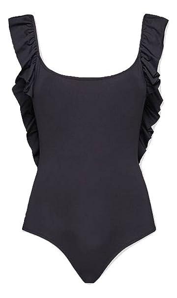 afe5bd48bd DONDUP COSTUME INTERO IN LYCRA NERO (L): Amazon.it: Abbigliamento