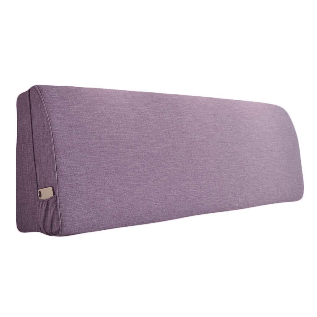 超激安 LPD- ベッド背もたれ あと振れ止めのクッションの枕元はベッドヘッドの有無にかかわらずベッドに合わせます疲労の満ちるスポンジ B07PLP1ZGY、9サイズ、3色を取り除きます (色 : : (色 ライトパープル, サイズ さいず : 185x55cm) B07PLP1ZGY 155x55cm|ライトパープル ライトパープル 155x55cm, atmos pink:5ea16f77 --- arianechie.dominiotemporario.com