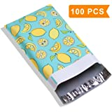 Mailer Plus #1 6X9 2.35MIL Lemon Designer Poly Mailers Shipping Envelopes Boutique Custom Bags 100Pcs