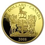 2008 CA Canada Proof Gold $300 Newfoundland and Labrador Gold Very Good