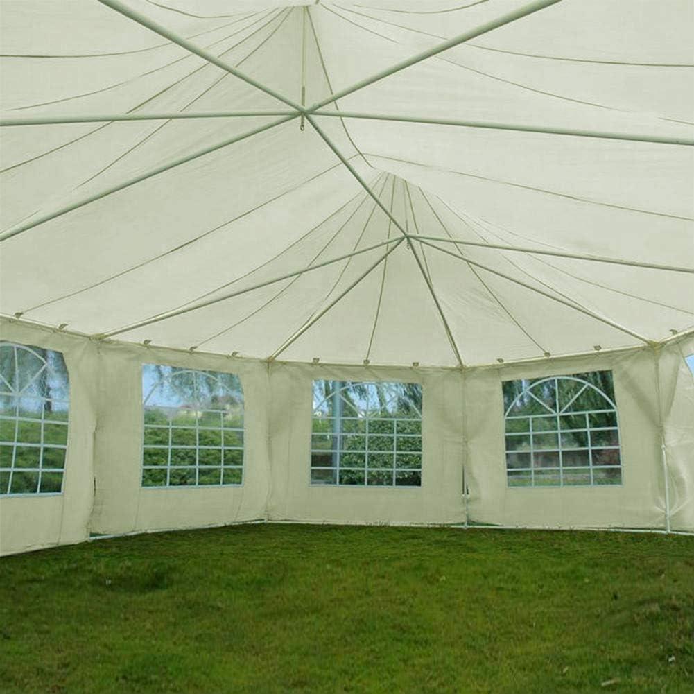 Abri d/év/énements 6.79x4.9M cr/ème Grande tente de r/éception imperm/éable Grande tente de f/ête Tonnelle de jardin Tente de r/éception Quictent