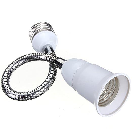 20 cm Starnearby Casquillo adaptador de extensi/ón E27 para bombilla LED