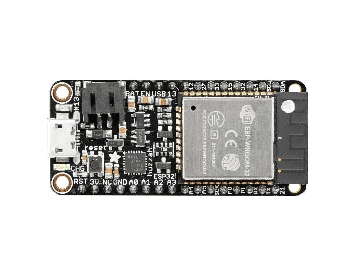Adafruit (PID 3591) HUZZAH32 – ESP32 Feather Board (pre-soldered)