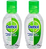Dettol Instant Hand Sanitizer - Original 50ml (Pack of 2)