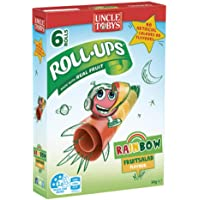Uncle Toby's Roll Ups Roll-Ups Rainbow Fruit Salad Flavour 6 Pack, 6 x 94 g