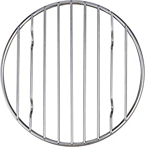 Mrs. Anderson's Baking Professional Baking and Cooling Rack, 6-Inches Round, Chrome-Plated Steel Wire