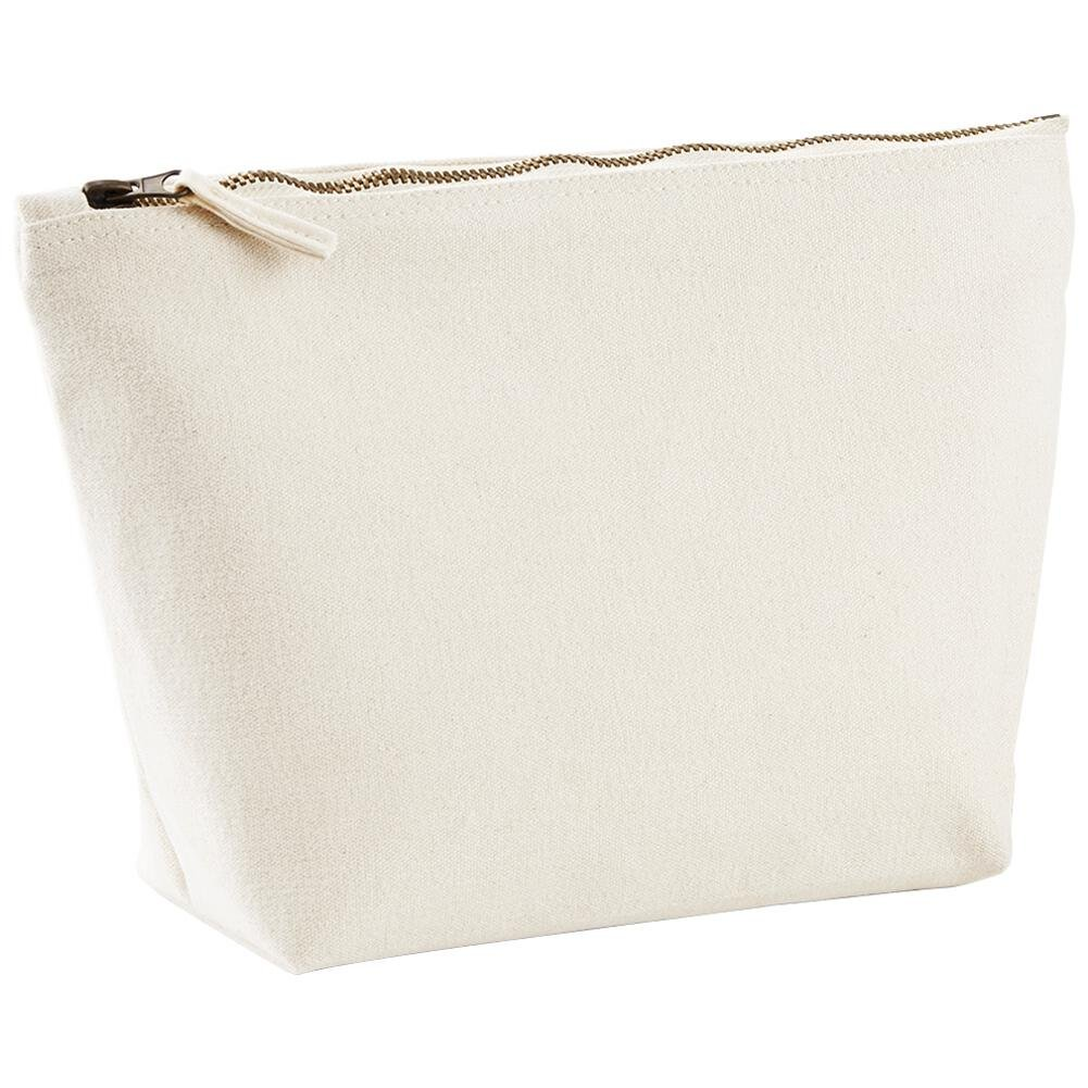 westford mill canvas accessory bag black or white 3 sizes avai
