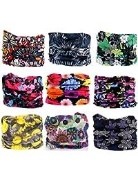 9PCS Outdoor Headscarves for ATV/UTV riding, Seamless...