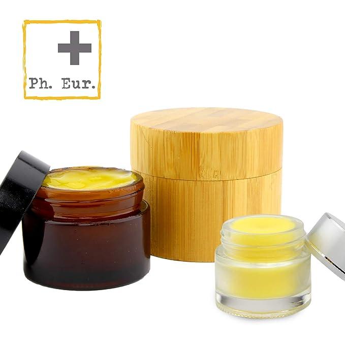 CERA DE ABEJAS 100% ECOLÓGICA de alta calidad para uso cosmético | Norma de la Farmacopea Europea (Ph. Eur.) | Gránulos para pomadas, bálsamo labial, ...