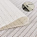 Jointop Non-Slip Area Rug Pad Gripper for Any Hard Surface Floor Runner Extra Strong Grip Thick Padding?Available in Many Sizes?White