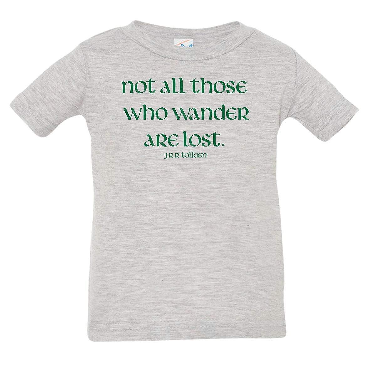 Tenacitee Babys Not All Those Who Wander Shirt