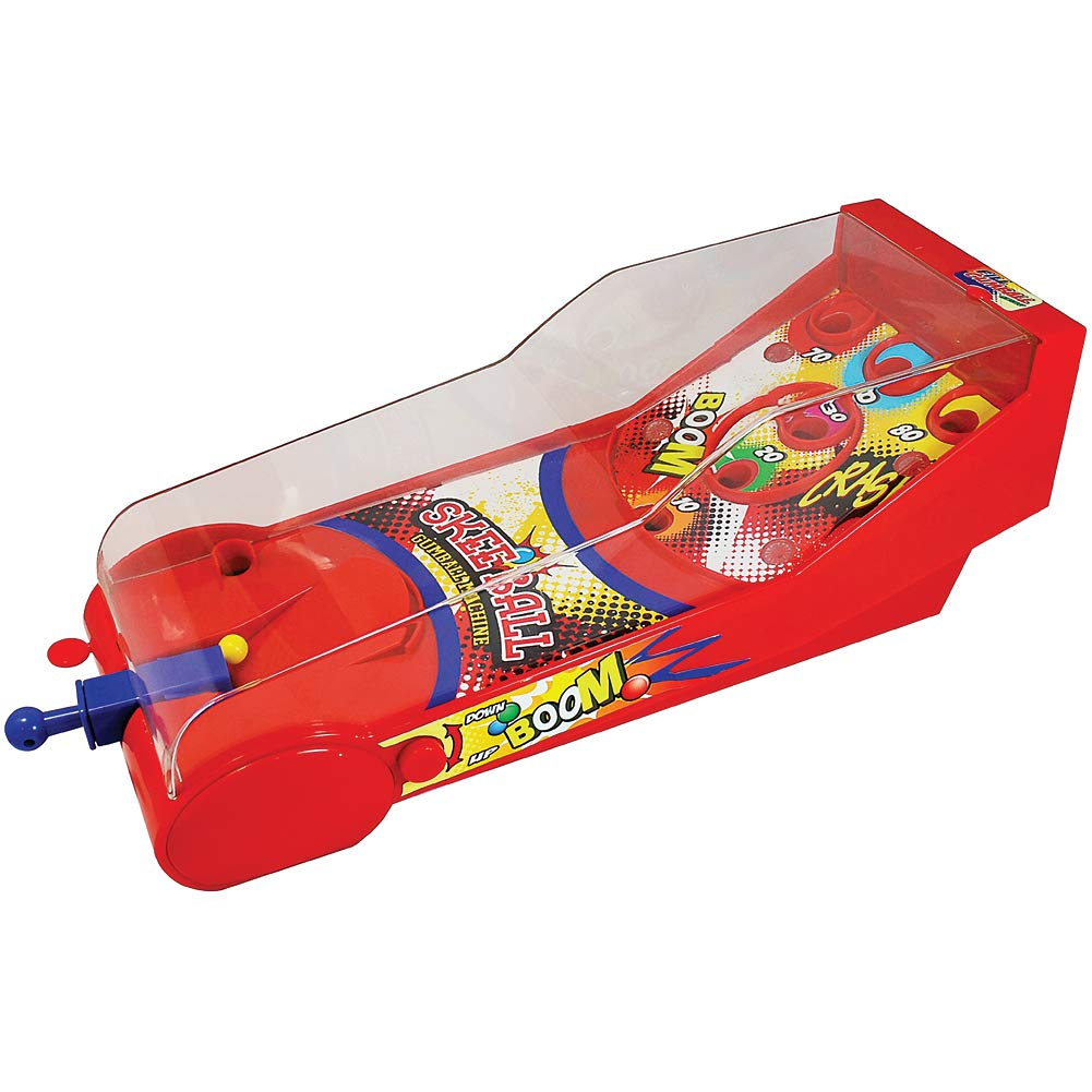 Dubble Bubble Skeeball Gumball Machine - Pinball Style Game Lights Sounds by Dubble Bubble