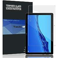 TopACE Schutzfolie für Huawei MediaPad T5 10, Huawei MediaPad T5 10 Panzerglas Premium Gehärtetes Glas Displayschutz für MediaPad T5 10