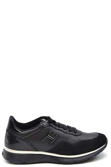 Hogan Sneakers Donna MCBI38170 Pelle Nero: Amazon.it: Scarpe