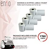 [8 Rolls, 1760 Labels] Address & Shipping Labels