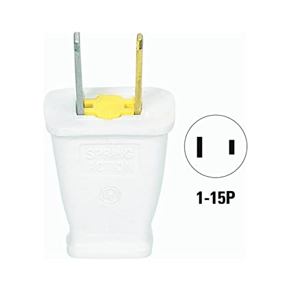 cooper wiring sa540w polarized plug electric plugs amazon com rh amazon com  wiring a polarized electrical plug