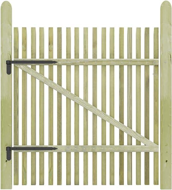 350 x 100 cm UnfadeMemory Gartentor Zauntor mit Pfosten Gartenzauntor Gartent/ür Pulverbeschichteter Stahl Maschenweite 5 x 20 cm Au/ßeneinsatz Einfahrtstor Anthrazit