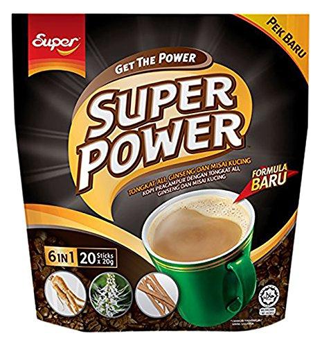 Ginseng Coffee - Super Power 6 in 1 Tongkat Ali Ginseng Dan Misai Kucing