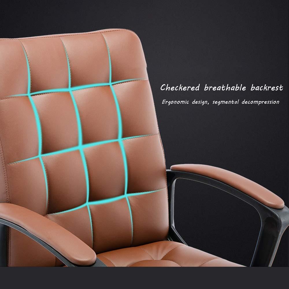 JIEER-C stol hög rygg stor storlek tyg spelstol justerbar höjd uppgift svängbar verkställande datorstol för internet kafé studiebärande kapacitet: 150 kg, B a