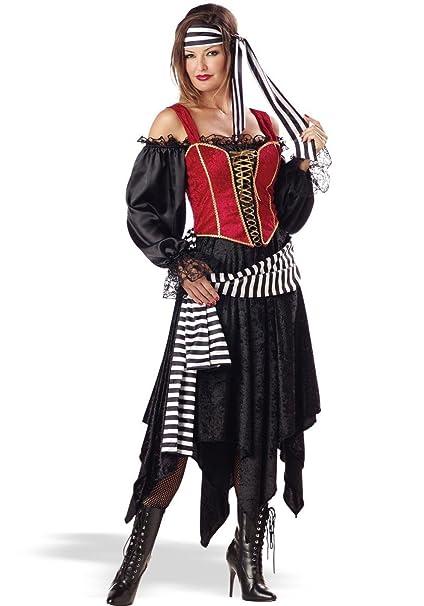 Amazon.com: Elite Collection mujer pirata disfraz (adulto de ...
