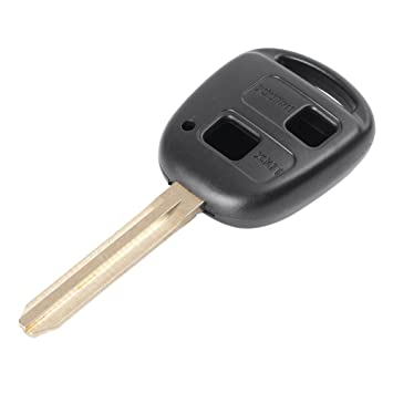 2 Button Remote Key Shell fits Toyota Rav4 Corolla Camry Prado Echo Hilux Yaris