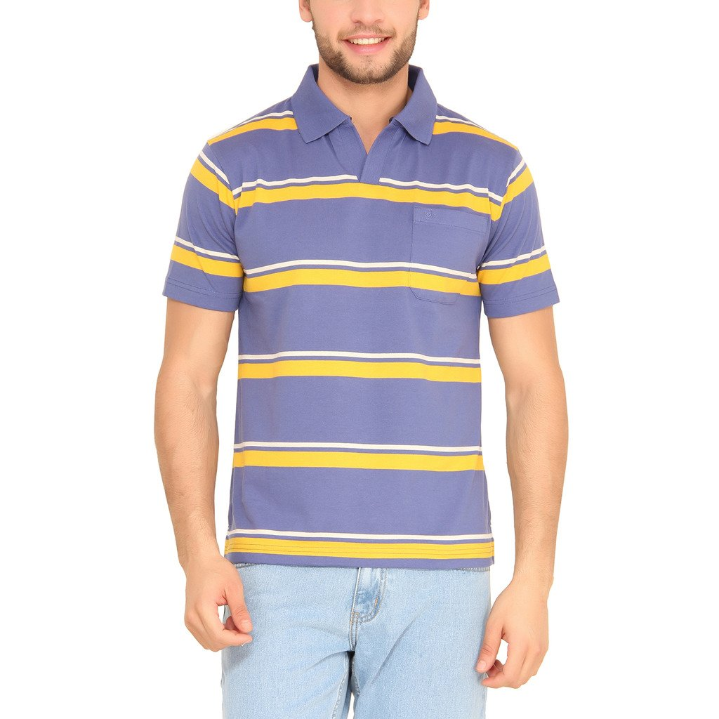 2ef28490 Classic Polo Men's Woolen Coastal Fjord Half Sleeve T-Shirt (Blue, Small):  Amazon.in: Clothing & Accessories