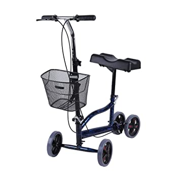 Amazon.com: Belovedkai Rodillera plegable para caminar ...