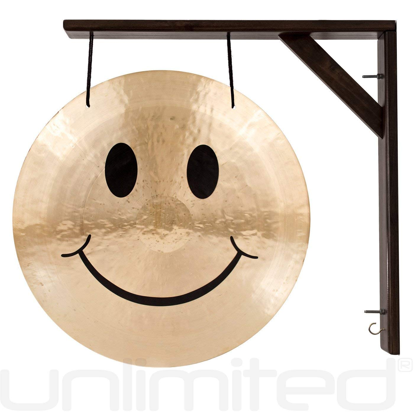 Unlimited 22'' Smiley Face Gong and Stand Combos