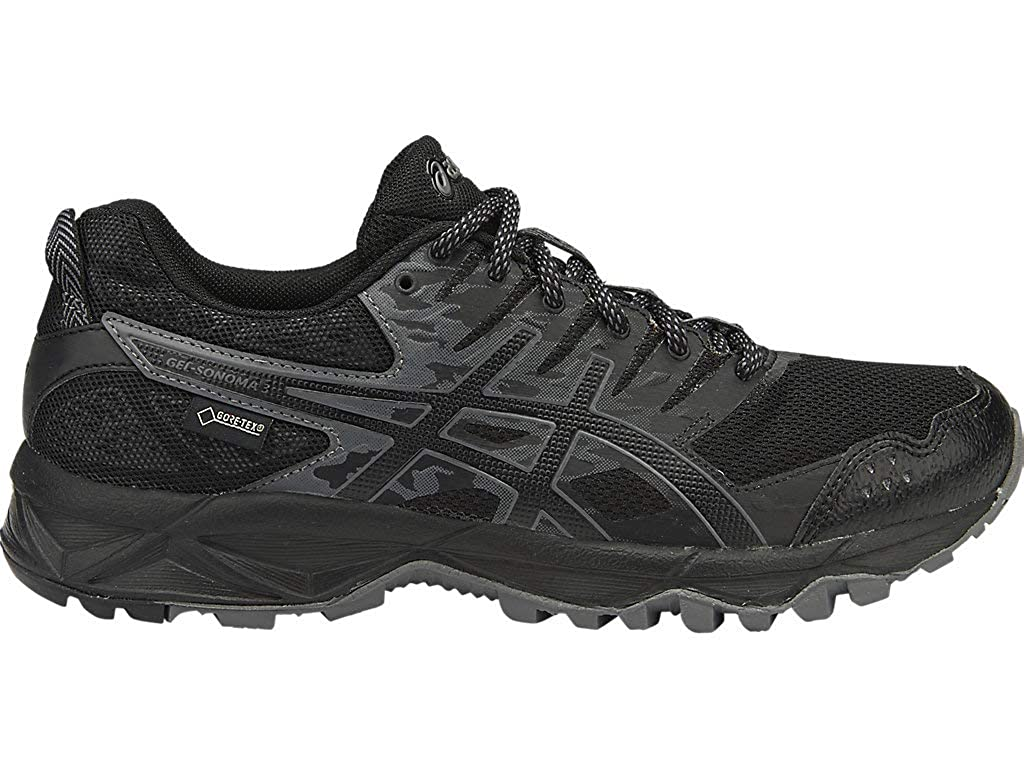 ASICS Women s Gel-Sonoma 3 G-TX Running Shoes, 6M, Black Onyx Carbon