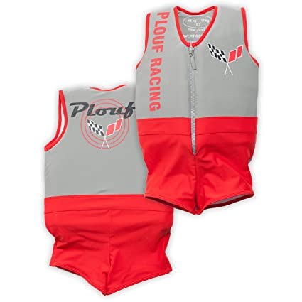 Amazon.com: Plouf flotante Flash Boy Traje de baño, tamaño ...
