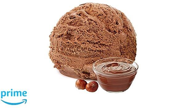 Nut Turrón Crema Sabor 1 Kg Gino Gelati Polvo de hielo Polvo de hielo suave para su heladora: Amazon.es: Alimentación y bebidas