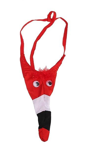 Sexy hombre águila roja animal pájaro funda de tanga Tanga T-back ropa interior calzoncillos