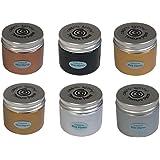 Cosmic Shimmer Texture Paste Phill Martin Precious Metals Set 6 x 50ml Pots