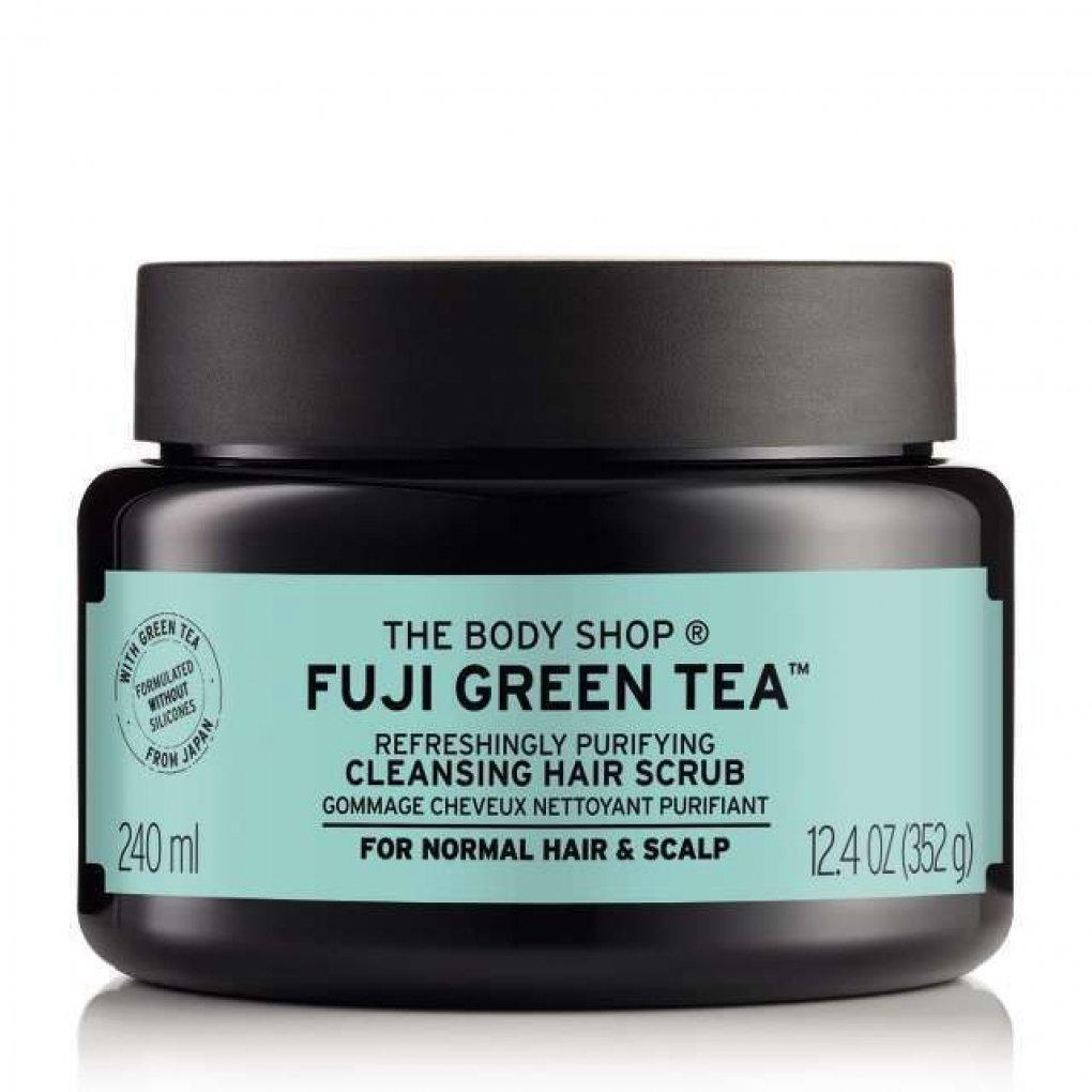 The Body Shop Fuji Green Tea Refreshingly Purifying Cleansing Hair Scrub 240ml 11096495