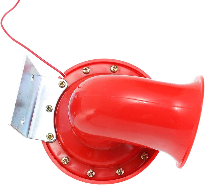 laut rauschender Klang AYUN Bullhorn Luft-Hupe rotes Metall rot 1 St/ück