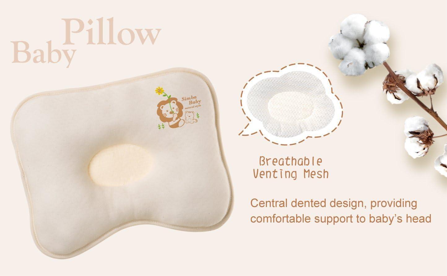 Simba Organic Cotton Baby Pillow