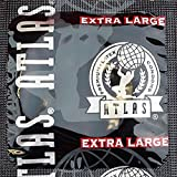 Atlas Extra Large Premium Lubricated Latex Condoms with Silver Pocket/Travel Case-24 Count