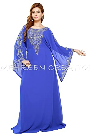 MEHREEN CREATION 2018 New Modern Dubai Kaftan Dress for Women 5007 (5XL) 409995085d0