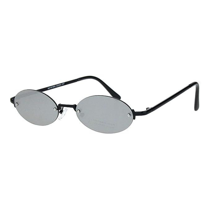 Amazon.com: Gafas de sol para hombre, diseño ovalado ...