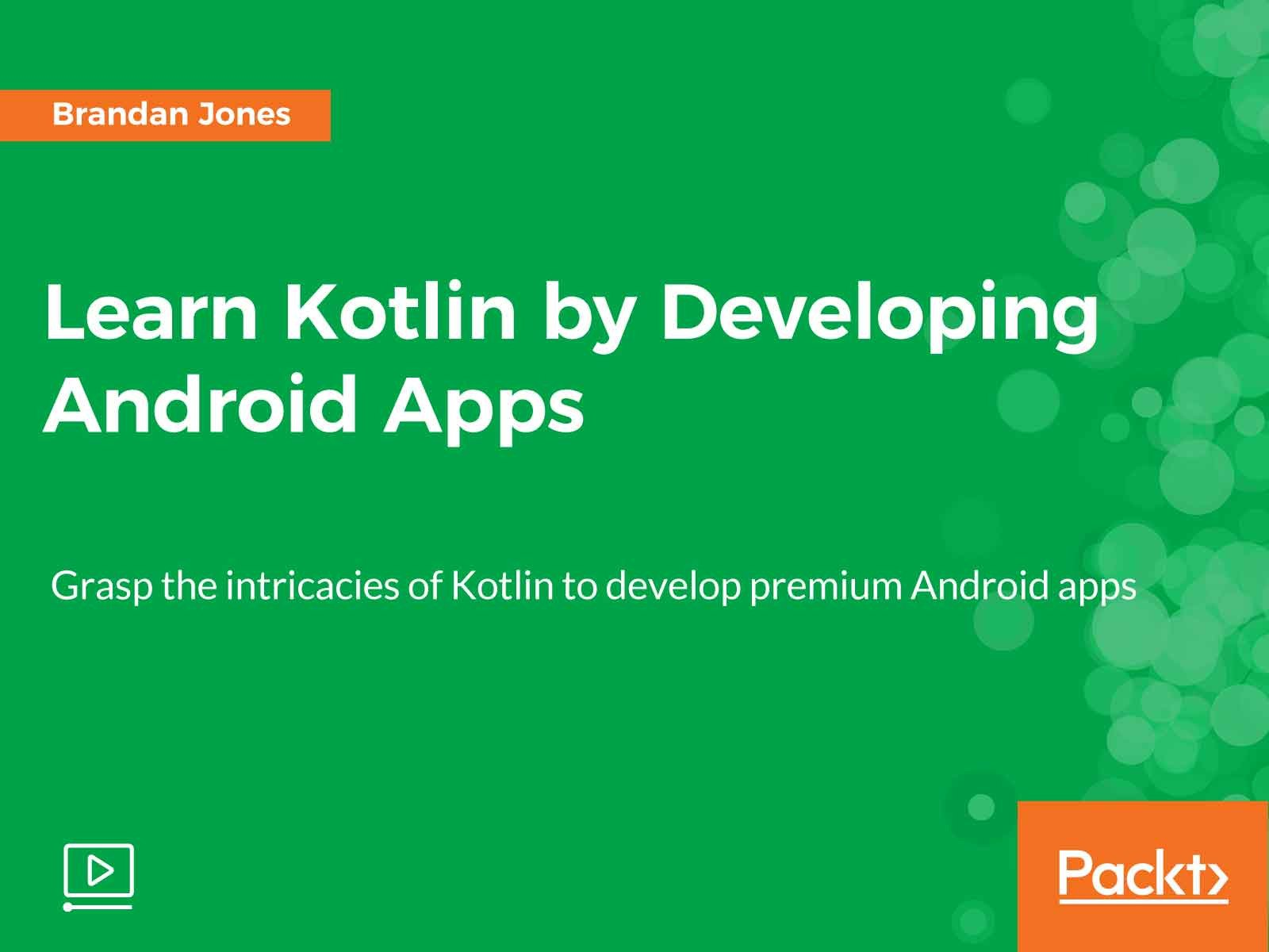 Amazoncom Watch Learn Kotlin By Developing Android Apps Prime Video
